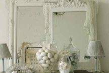 Bedroom vintage mirrows