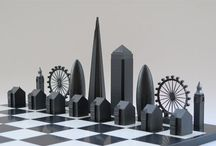 Chess / A game of war. An opportunity to create a small stage for the most imaginative of character creation.