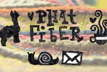 Phat Fiber / Inspiration Board To Keep Me Focused. Phat Fiber is a box of samples for the yarn and fiber enthusiast. When your box arrives, expect to be overwhelmed with the sight and feel of artful yarns, bits of roving, small batts, stitch markers, original patterns, valuable discount coupons...even an herbal tea or two! Phat Fiber seeks to bridge the gap between talented online artisans and consumers hungry to support the independent small business. http://www.phatfiber.com
