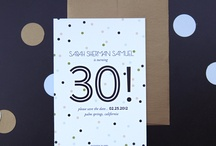 30th invitations