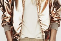 Metallic Accents / Metallic Clothing and Accessories