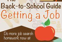 Job Search / Career Infographics