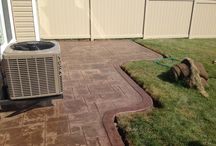 Stamped Concrete / The best hardscaping option.