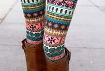 Glamour tights!
