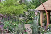 Metalwork garden