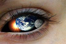 The Eyes are the Window to the Soul ~Leonardo DaVinci  / by Jenn Moore