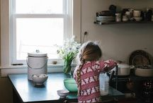 Kids in the Kitchen \\ Moments / Capturing the small moments in the kitchen to prepare more than just the next meal. Life lessons with little ones--how to lay a table, prepare herbs, and follow a recipe.