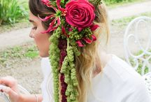 Flowers for hair