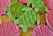 Tropical & Nautical Decorated Cookies