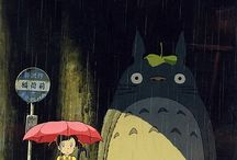Totoro and other Ghibli movies