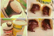 docinhos de leite ninho com Nutella