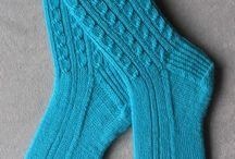 Top-down socks to knit