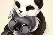 Panda & Koala