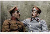 Soldat Bulgare / Photos colorisées de soldats bulgare durant la première guerre mondial