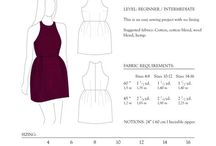 Clothing patterns & tutorials