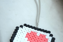 Collares y pendientes / Collares y pendientes Hama Beads