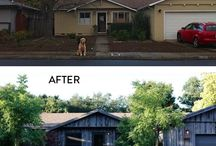 Before and After Garden Makeovers / Before and after garden makeovers to add curb appeal / by Gardenista