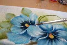 videos de pintura em tecido