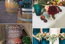 Svatba v podzimních barvách
