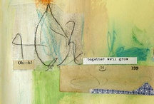 Art - Mixed media Painterly / by CREAgeous Living!