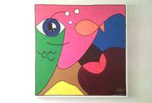 Paintings by Sven van de Bergh