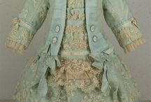 Antique doll dress-French dolls