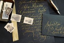 Invited / Beautifully crafted invitations  / by Natalie Mantej
