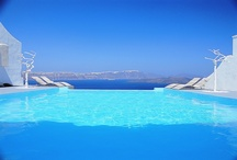 Astarte Suites Hotel - Santorini / Far from the crowds lies this nine-suite full-service hotel, where the word of the day, every day, is privacy. Amid the hilltop hush of its dramatic cliff's-edge setting, a capable and gracious staff is on call to see to your every need, from private terrace dining to tours of local sites. The modern take on Cycladic architecture lends a sophisticated edge to this boutique hotel. http://goo.gl/Rqu15d   / by Astarte Suites