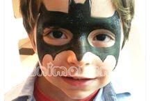 Pintura facial / Pinturas faciais para dias especiais.