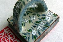 趣♪   陶芸  印