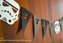 Star Wars DIY Décor / All good Star Wars Parties need decorations. We have ideas, instructions, patterns and downloads for centerpieces, flags, banners and all things Jedi.  http://maythefourthbewithyoupartyblog.com