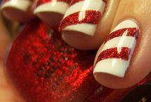 NAILS & LIP ART / Interesting transformations of lips and nails!
