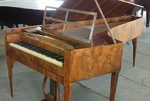 1790 - 1800 Piano Case Styles / 1790 - 1800 Piano Case Styles at Besbrode Pianos