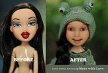 OOAK Repaint dolls