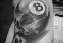 billiard tattos