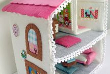 Sewed Doll Houses