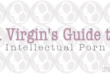 A Virgin's Guide to Intellectual Porn / It's been called erotica, adult romance, mommy porn, ladies porn and smut; but we call it Intellectual Porn. Where to start your addiction? We've created a guide, putting books into levels (based on our Handcuff ratings) which contain progressively more and more explicit content. We suggest you start at the top and work your way down. #romance #erotica #adultromance