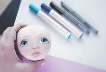 ako malovat oči
