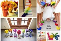 Colors and wedding inspirations / Colors for bright your wedding up
