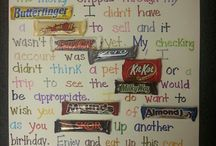 candy message / by Janet Cary