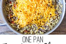 Recipes: One Pot Meals / recipes made completely in one pot -- super easy dinner ideas! / by Ashley | The Recipe Rebel