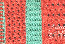 Fun Crochet Stitches / by Denver Whimsy Crochet | Delight Iverson