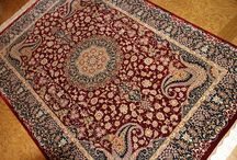 ペルシャ絨毯クム産地、シルクペルシャ絨毯