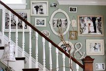escalera pintada