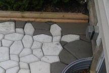 pedras cimento