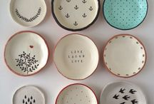 Air dry clay / So much can be made with air drying clay !plant pots, pinch pots,magnets, broaches, wall decorations etc..... Its cheap, available in most craft shops and no kiln is needed. Have a look at this board for inspiration and get making :)