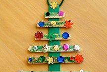 Weihnachtsbasteleien mit Kindern
