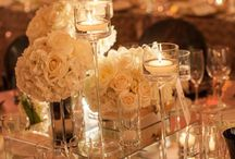 Mirrored Centerpieces