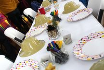 Safari Party / Safari Party - birthday party ideas for safari animal themed party . Vegetarian kid party ideas