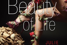 Beauty of Life by Julie Reed AIFD / Full color book of fabulous images of the Human body and Floral decor.